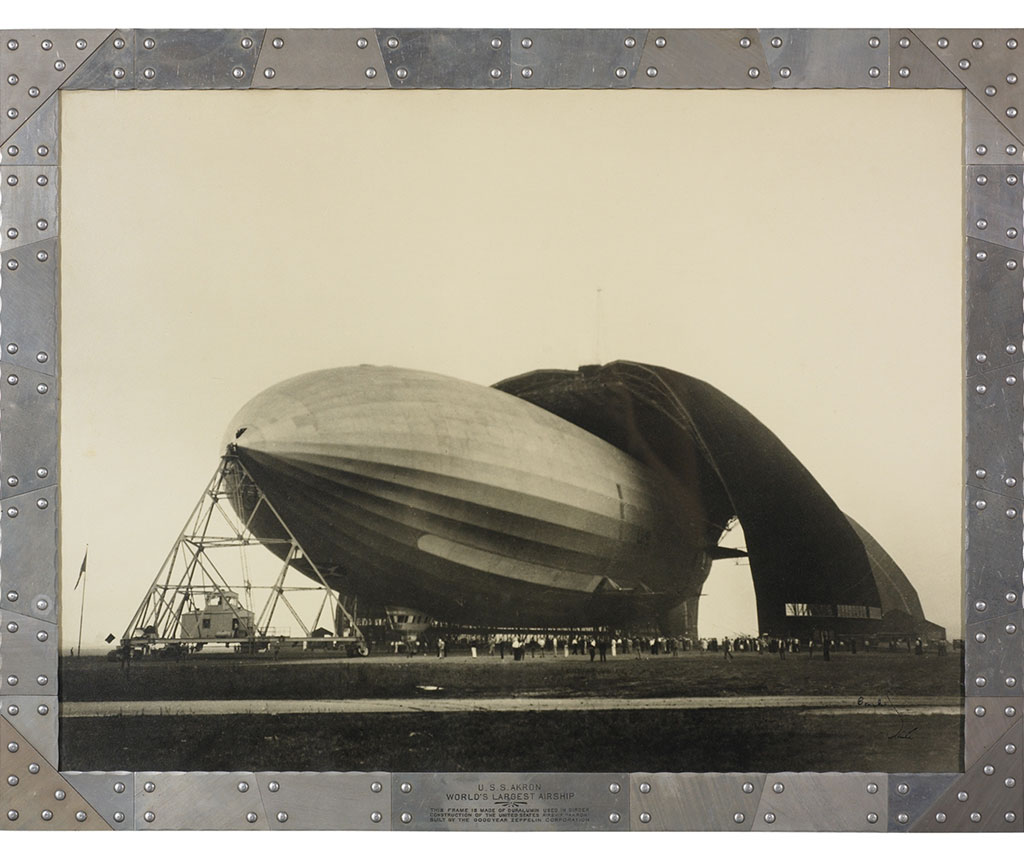 Ricevere l'Avvenimento White White Zeppelin Wright Auction 1931